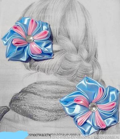 Резиночки для волос ручной работы на заказ