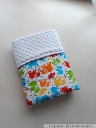 Плед для новорожденного ручной работы на заказ