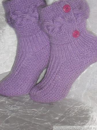 Носки-сапожки ручной работы на заказ
