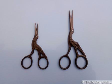 Ножницы цапельки ручной работы на заказ