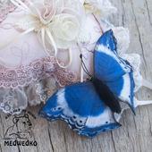 фото: Украшения (бабочка синяя)