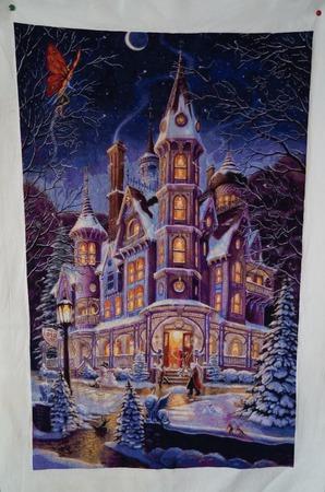 Зимний замок от хеад ручной работы на заказ