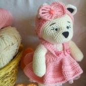 """Машенька в розовом из серии""""мишки Тедди"""""""