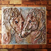 """""""Портрет двух лошадей"""""""