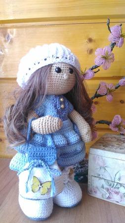 Кукла парижанка ручной работы на заказ