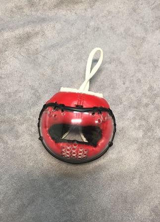 Шлем Косики каратэ, сувенир, логотип,  подарок мужчине ручной работы на заказ