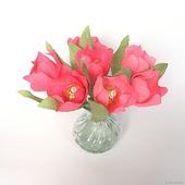 """Тюльпаны из конфет """"Весеннее настроение"""""""