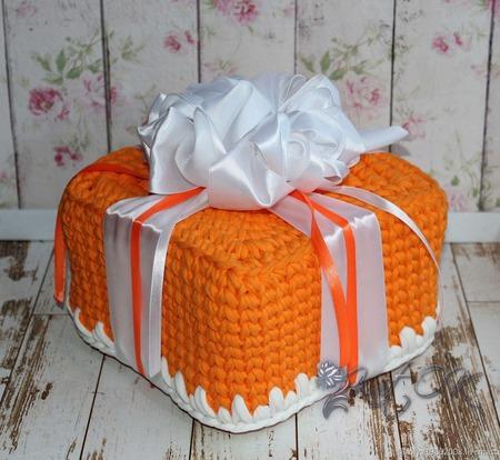 Оранжевое настроение ручной работы на заказ