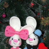 фото: Куклы и игрушки (влюбленная пара)