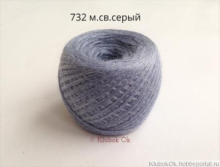 Слонимская пряжа, Беларусь (50г/200 м) ручной работы на заказ