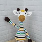Жираф мягкая игрушка крючком