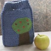 Детская вязанная сумочка. Сумочка для хранения игрушек