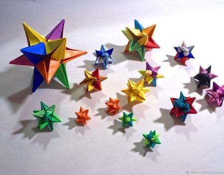 Шпильки-палочки для волос со звёздочками ручной работы на заказ