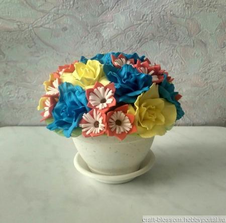 Цветы для интерьера, подарок ручной работы на заказ