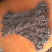 Перчатки из козьего пуха