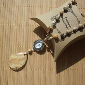 Яшма песчанная, часы