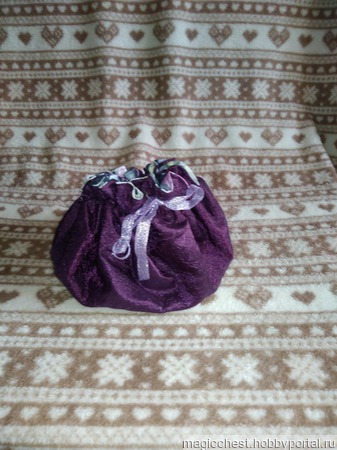 Мешочек для подарка ручной работы на заказ