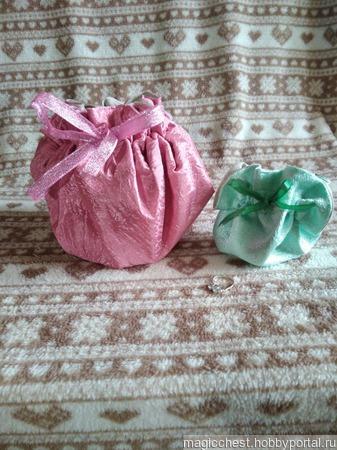 Маленький Мешочек для подарка ручной работы на заказ