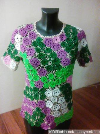 Блуза ручной работы на заказ