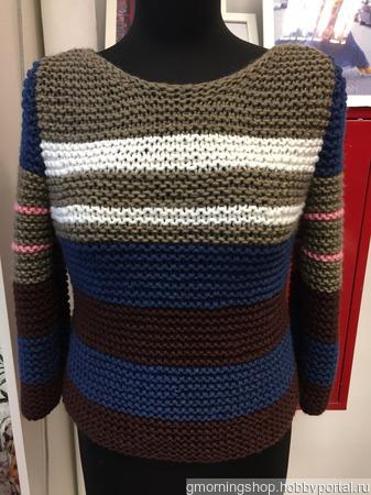 Вязаный свитер ручной работы в Москве ручной работы на заказ