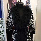 Вязаное пальто в Москве