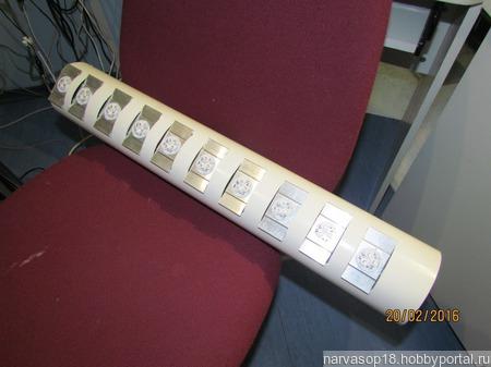 Светодиодный  светильник ручной работы на заказ