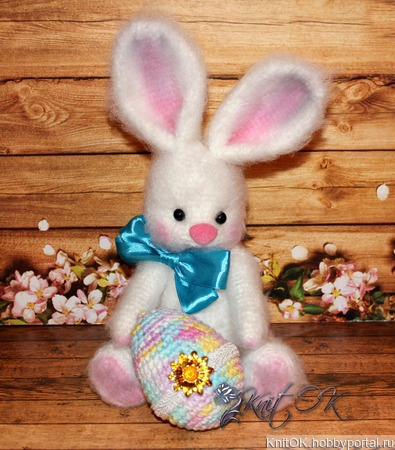 Пасхальный кролик ручной работы на заказ
