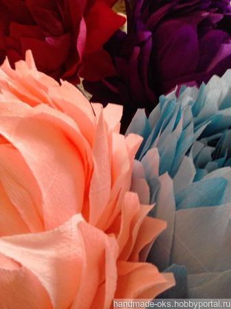 Гигантские ростовые цветы ручной работы на заказ