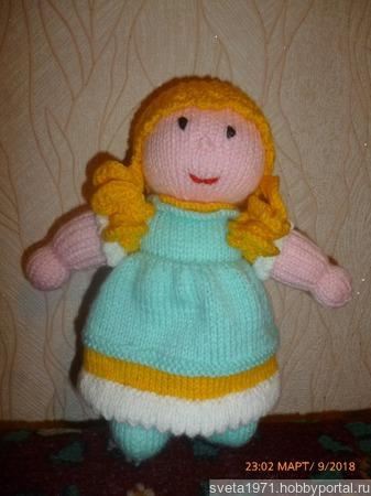 Кукла Анабель ручной работы на заказ
