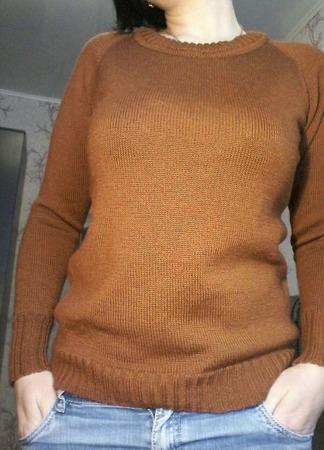Джемпер из альпаки на шелке ручной работы на заказ