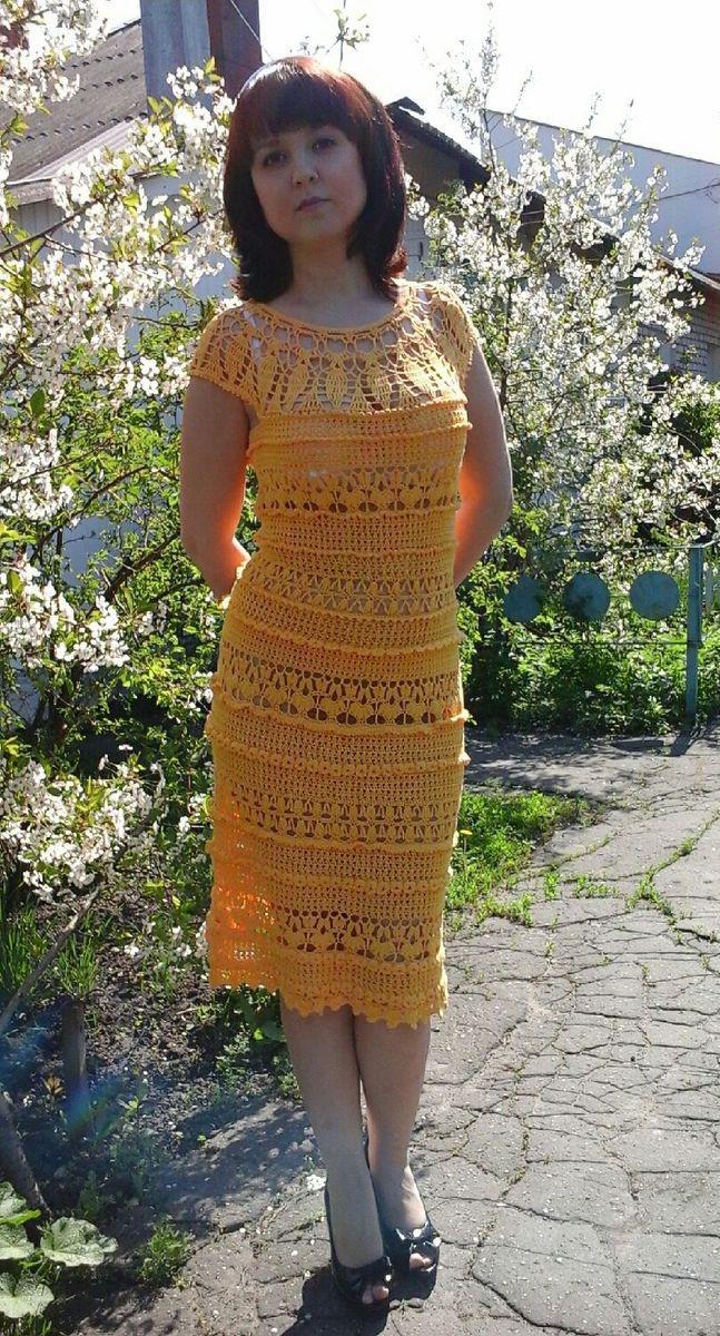 b449c9688a1 Платье вязаное – купить в интернет-магазине HobbyPortal.ru с доставкой