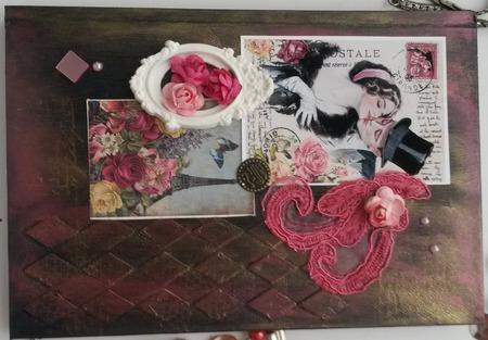 Женский ежедневник ручной работы на заказ