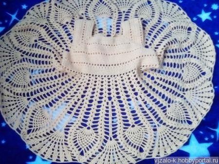 Платье-сарафанчик ручной работы на заказ
