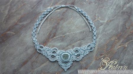 Ожерелье «Горный ручей». ручной работы на заказ