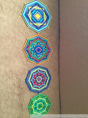 Мандалы плетеные ручной работы на заказ