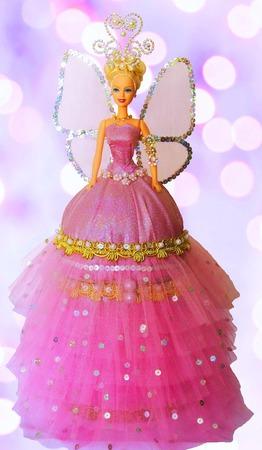 "Кукла-шкатулка ""Цветочный эльф"" ручной работы на заказ"