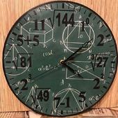 "Часы настенные ""Простая математика"""