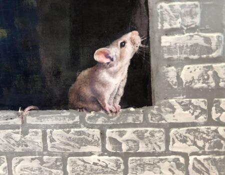 """Настольный вечный календарь """"Кошки-мышки"""" ручной работы на заказ"""