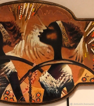 "Ключница ""Африка"" (1) ручной работы на заказ"