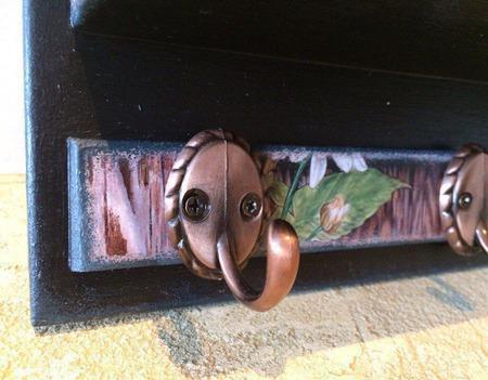 """Ключница с карманом для документов """"Уютный дом"""" ручной работы на заказ"""