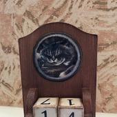 """Вечный календарь """"Хитрый кот"""""""