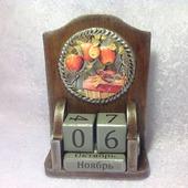 """Настольный вечный календарь """"Наливные яблочки"""""""