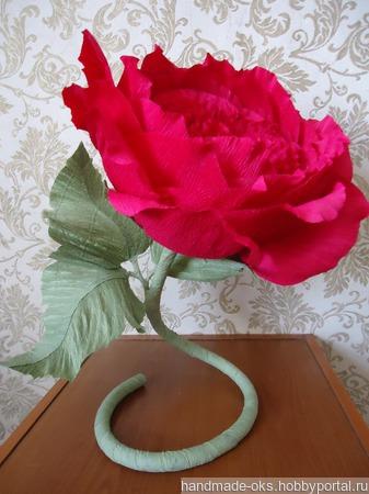 Ростовой цветок ручной работы на заказ