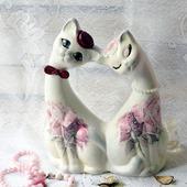 Романтика коты парочка свадебные юбилейные