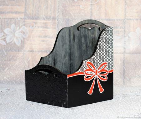 Короб для специй Тайна ручной работы на заказ