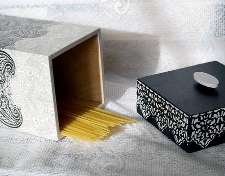 Короб для спагетти ручной работы на заказ