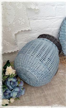 Плетеный набор from Paris. Кувшин и сервировочная салфетка ручной работы на заказ