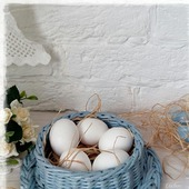 Плетеная корзинка Подставка для яиц