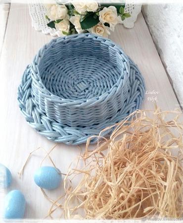 Плетеная корзинка Подставка для яиц ручной работы на заказ