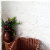 Короб плетеный в стиле Шотландия